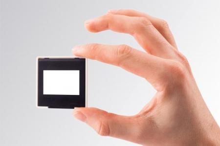 lightbox: Photo frame  Slide 35mm on white background