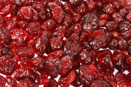 Dried cranberries can be used as background Stock Photo