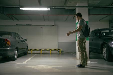 voiture mans a été volé, ne peux pas trouver la voiture au parking souterrain