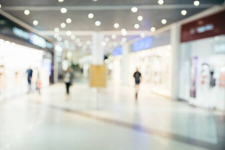light duty: blurred store inside design concept
