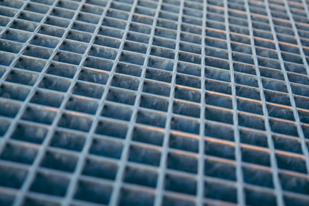black hole: metal grid or grille background Stock Photo
