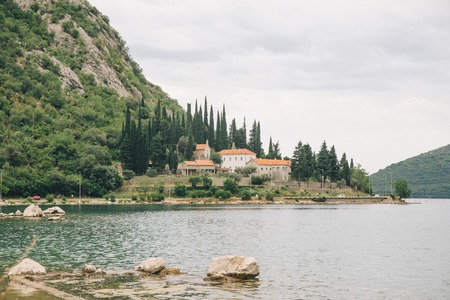 banja monastery in montenegro. adriatic sea. travel concept Stock Photo