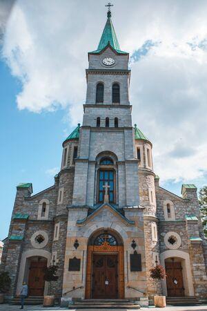 church in zakopane poland tatra mountains summer time