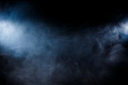 Smoke on black background Фото со стока