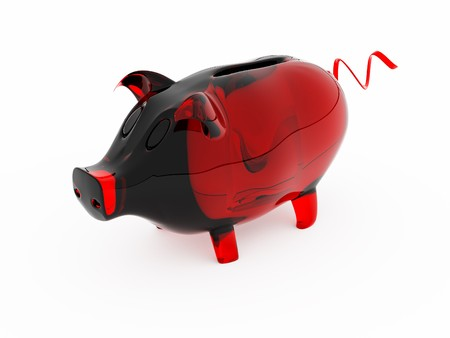 piggy bank its possible to use as  background photo