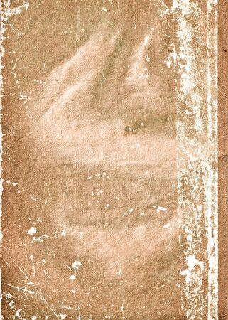 collapsing: old collapsing paper with cracks and scratches