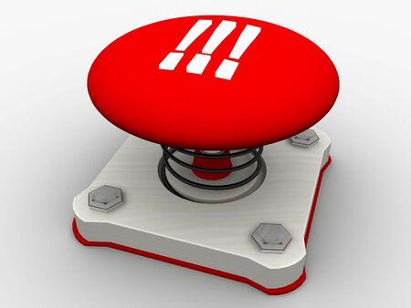 Green start button on a metal platform Stock Photo - 5338628