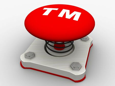 Green start button on a metal platform Stock Photo - 5338630
