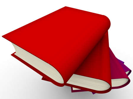 The big book on a white background Stock Photo - 5565684