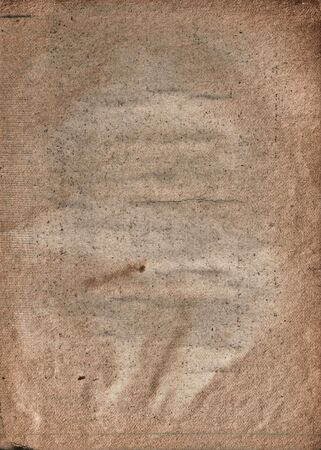 old collapsing paper with cracks and scratches