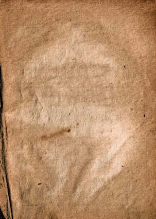 old collapsing paper with cracks and scratches Stock Photo - 5565737