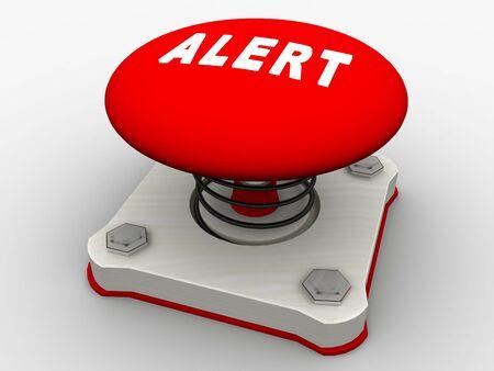 Green start button on a metal platform Stock Photo - 6079900