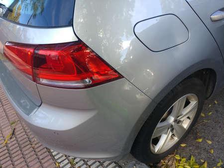 car lamp tail rim tire Standard-Bild