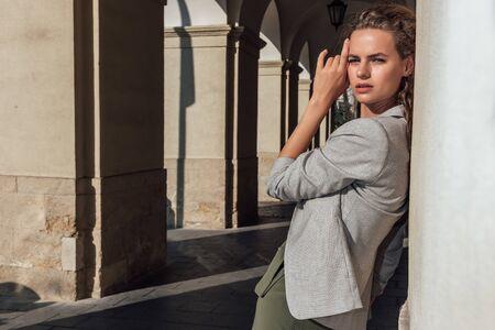 Fashion Portrait Of Gorgeous Girl.