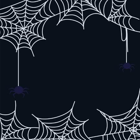 Cartoon Cobweb Set