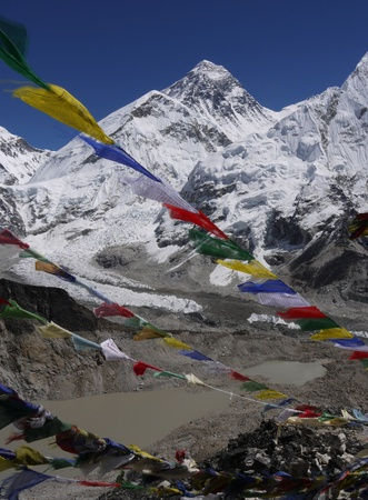 Mt. Everest, the highest mountain in the world Stock Photo - 8260847