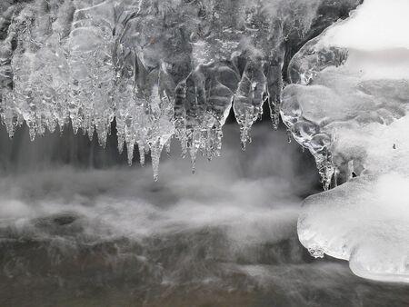 Frozen creek Stock fotó