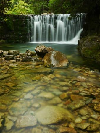 Waterfalls in Giant mountains photo