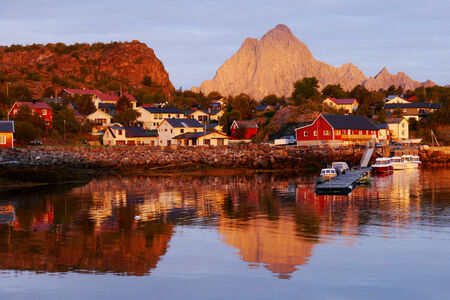 Lofoten, Norway photo