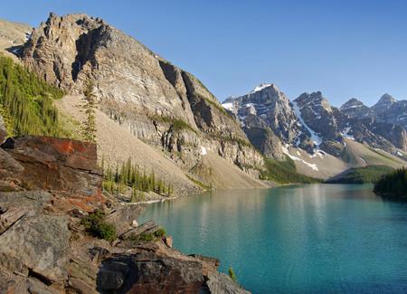 alberta: Moraine Lake - Alberta, Canada,