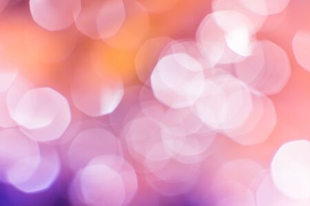 abstract background of light bokeh photo