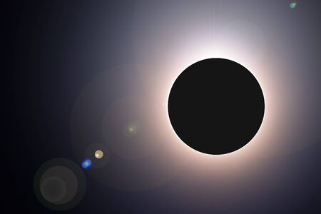 eclipse: full solar eclipse of 2015, March 20 Stock Photo