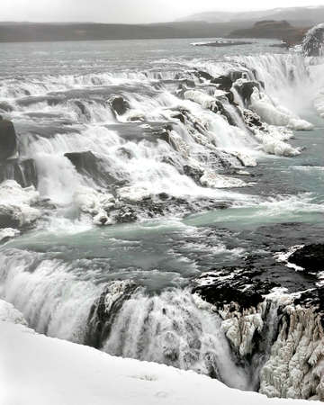 Icelandic waterfall photo