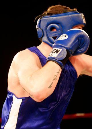 whack: fighting Stock Photo
