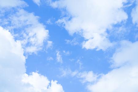 Blue sky cloud - background concept Stok Fotoğraf