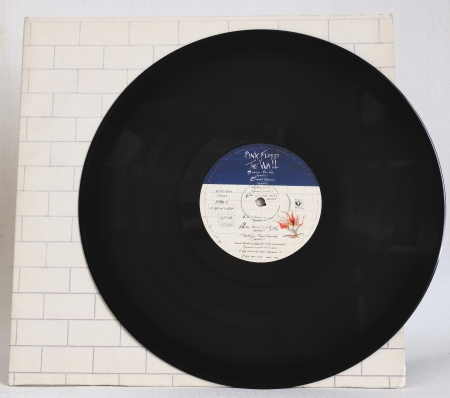 pink floyd: PINK FLOYD - The Wall  (LP Cover + Vinyl) on White Recording London 30.09.1979 EMI Electrola GmbH Printed in Germany - Test pressing Producer: Bob Ezrin, David Gilmour, Roger Waters Producers Workshop Los Angeles Between April And November, 1979.