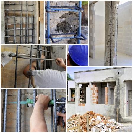 intervention: Collage intervention structural reinforcement of concrete structures damaged