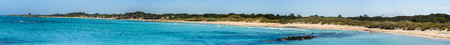 Nature reserve of Torre Guaceto. BRINDISI (Apulia)-ITALYMediterranean maquis: a nature sanctuary between the land and the sea.