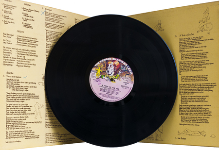 LONDON, great britain - October–November, 1975: A Trick of the Tail is the seventh studio album from the English progressive rock band Genesis Editorial