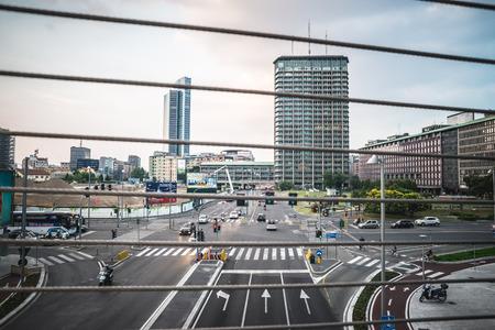 regeneration: MILANO, ITALIA - 5 giugno: Porta Nuova Varesine distretto il 5 giugno, 2014 Porta Nuova Varesine � uno dei pi� grandi progetti di rigenerazione in Europa, per un totale di oltre 290.000 metri quadrati