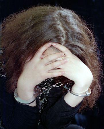 woman handcuffs: criminal women