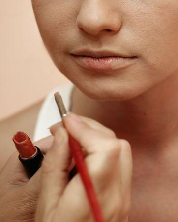 rote lippen: Rote Lippen Lizenzfreie Bilder