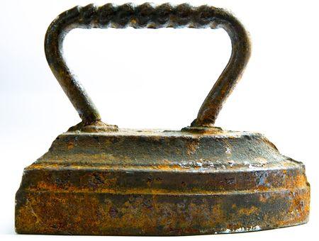 retrospective: Old rusty iron Stock Photo
