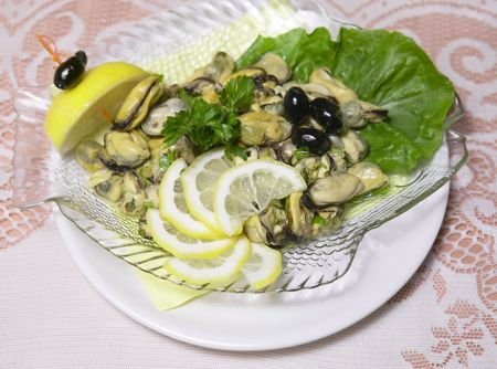 seafish: Marinade mussel seafish