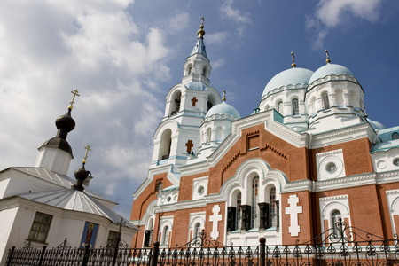 Spaso-Preobrazhenskiy cathedral, located at Valaam island, Ladoga lake, Russia Stock Photo - 1566915