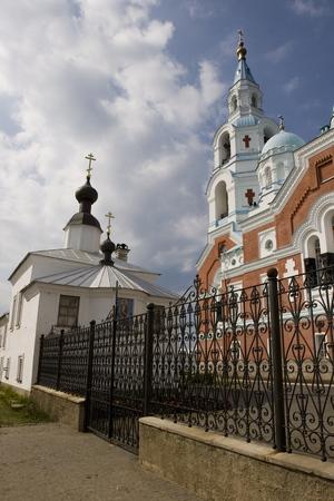 Spaso-Preobrazhenskiy cathedral, located at Valaam island, Ladoga lake, Russia Stock Photo - 1566914