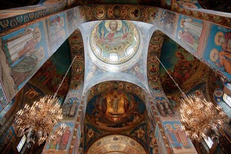 Church of the Savior on Blood. Interiors.