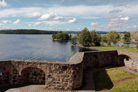 suomi: Savonlinna castle (Olavinlinna, Olofsborg) in Finland