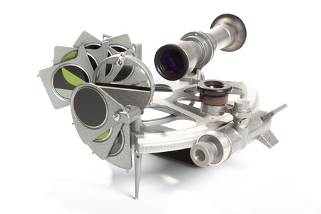 speculum: A sextant is an instrument used to measure the angle between any two visible objects.