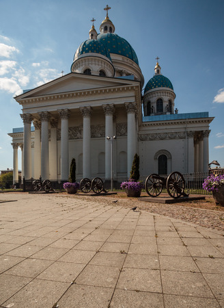 vasily: Trinity Cathedral, Saint Petersburg sometimes called the Troitsky Cathedral, in Saint Petersburg, Russia, is a late example of the Empire style, built between 1828 and 1835 to a design by Vasily Stasov. Editorial