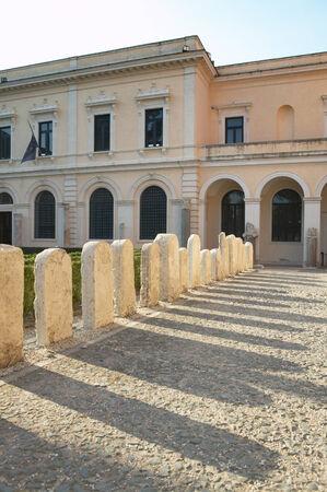 venerable: Museo  nazionale romano Сад у  музея.