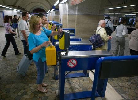 tourniquet: The Rome Metro