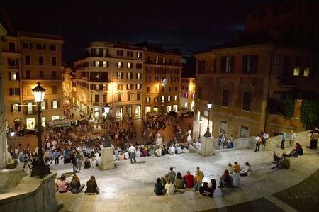 trave: The Piazza di Spagna or Spanish Square
