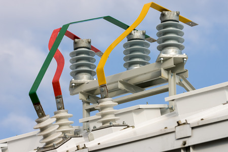 isolator high voltage: Insulation and switches in a power plant