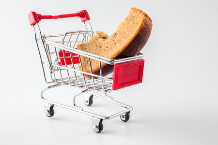 inflation basket: shopping trolley