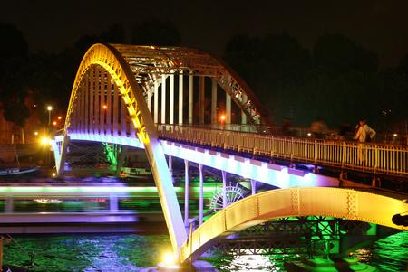 reverberation: night bridge